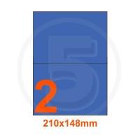 Etichette adesive pastello 210x148mm color Blue