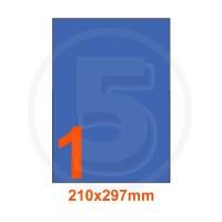 Etichette adesive pastello 210x297mm color Blue