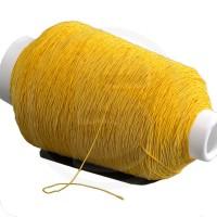 Cordino elastico in bobina, spessore 1mm, Giallo