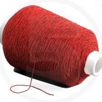 Cordino elastico in bobina, spessore 1mm, Rosso