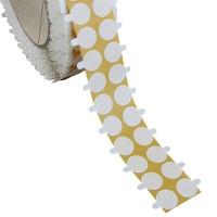 bollini biadesivi diametro 25mm, adesivo permanente/removibile
