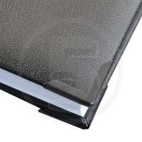 Angolini metallici di protezione PS 22, 22x22mm, verniciati nero