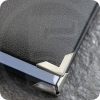 Angolini metallici di protezione PS 16, 16x16mm, nichelati