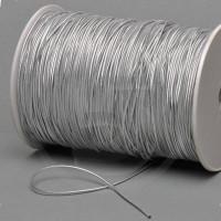 Cordino elastico in bobina, spessore 2mm, Argento