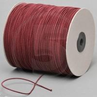 Cordino elastico in bobina, spessore 2,2mm, Bordeaux