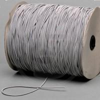 Cordino elastico in bobina, spessore 2,2mm, Grigio chiaro