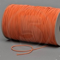 Cordino elastico in bobina, spessore 2,2mm, Arancione