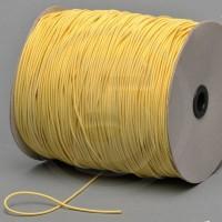 Cordino elastico in bobina, spessore 2,2mm, Giallo