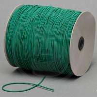 Cordino elastico in bobina, spessore 2,2mm, Verde scuro