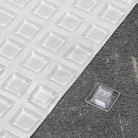 Gommini autoadesivi paraurti trapezoidali trasparenti