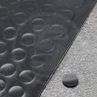 Gommini autoadesivi paraurti piatti diametro 8mm neri