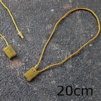 Filo di sicurezza in cordoncino con perno, lunghezza 200mm, ORO