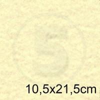 Biglietto in carta MARINA AVORIO formato 10,5x21,5cm 175gr