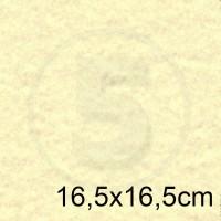 Cartoncino doppio MARINA AVORIO 16,5x16,5 175gr