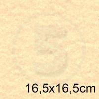 Cartoncino doppio MARINA SABBIA 16,5x16,5 175gr