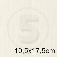 Biglietto in carta ACQUERELLO BIANCO formato 10,5x17,5cm 200gr