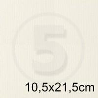 Biglietto in carta ACQUERELLO BIANCO formato 10,5x21,5cm 160gr