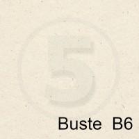 Special Paper Buste in carta FLORA AVORIO B6 130gr