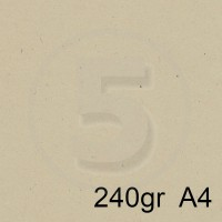 Special Paper Carta FLORA BEIGE A4 240gr