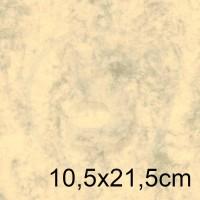 Biglietto in carta MARBRE AVORIO formato 10,5x21,5cm 200gr
