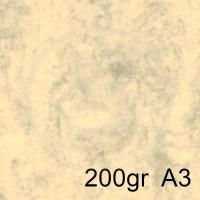Special Paper Carta MARBRE AVORIO A3 200gr