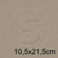 Biglietto in carta NATURAL DESERT 10,5x21,5cm 120gr