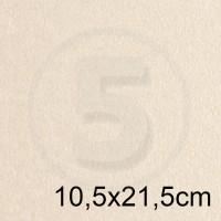 Biglietto in carta PEARL AVORIO perlescente formato 10,5x21,5cm 125gr