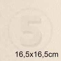 Cartoncino doppio PEARL AVORIO perlescente 16,5x16,5 230gr