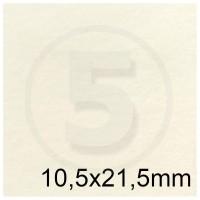 Biglietto in carta PERGAMENA AVORIO formato 10,5x21,5cm 160gr
