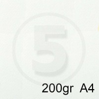 Special Paper Carta TINTORETTO BIANCO A4 200gr