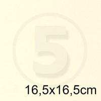Cartoncino doppio TINTORETTO AVORIO 16,5x16,5 200gr