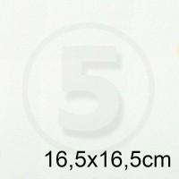 Cartoncino doppio TINTORETTO BIANCO 16,5x16,5 200gr