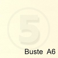 Special Paper Buste in carta COTTON AVORIO B6 120gr