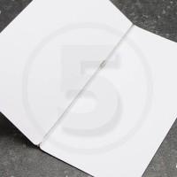 Elastico per legatoria chiuso ad anello, lunghezza aperta 580 mm, Argento