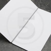 Elastico per legatoria chiuso ad anello, lunghezza aperta 410 mm, Argento