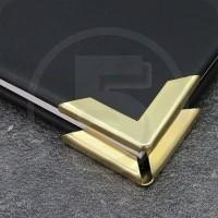 Angolini metallici di protezione PS 30, 30x30mm, ottonati