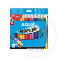 Pastelli triangolari acquarellabili colorpeps in sc appendibile x24