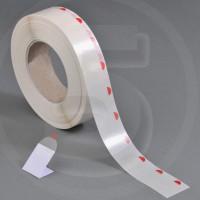Bollini chiudibusta trasparenti 28mm removibili